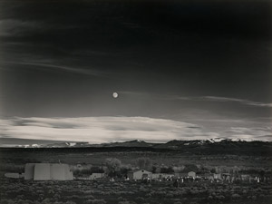 Ansel Adams's Moonrise, Hernandez, New Mexico