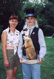 Warren Holtzman and King Groundhog