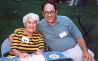 Miriam Mednick Rothman and Avi Eden