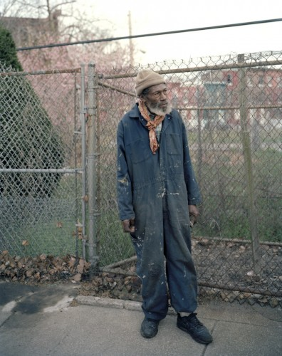 Man with Overalls, North Philadelphia, 2008