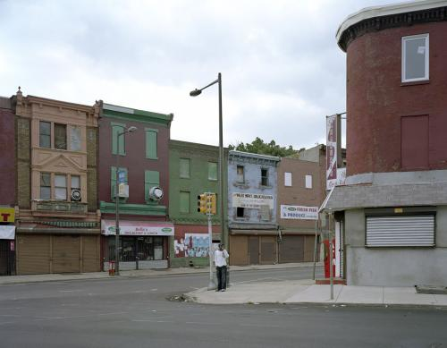 Ridge Avenue, North Philadelphia, 2008