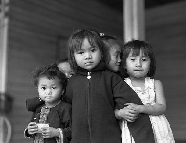 Children, Lanten Village, Luang Namtha, Laos, 2006