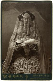 Cabinet Card #1, from the stony dress project