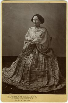 Cabinet Card #2, from the stony dress project