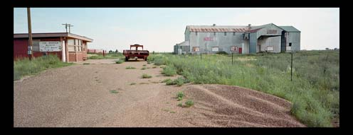 Restaurant and Cotton Gin, Outside Levelland, Texas, 2006