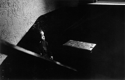Helen M. Stummer: James on 322 Stairwell, 1994