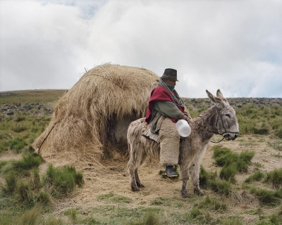 Thomas Ladd: Untitled 72, Ozogoche, Ecuador, Shepherd, 12,864 Feet, from the series Los Páramos
