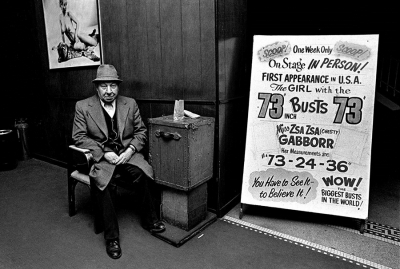 Robert Adler: Troc Ticket Taker, Troc Burlesque Theater, Philadelphia, 1974