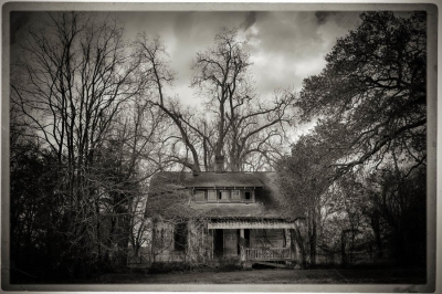 Bev Pettit: Abandoned House, from the Bayou Series