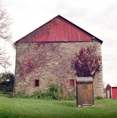 Dustin Ream: Untitled (Barn) #54