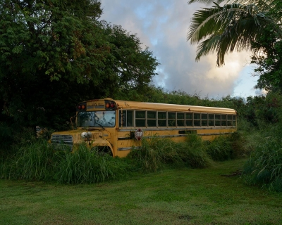 Shannon Benine: Tour Bus, Kalaupapa, Hawaii, 2014