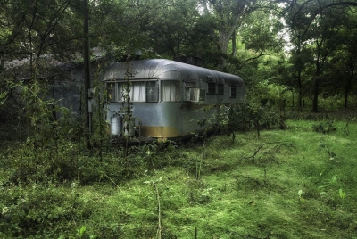 Hinda Schuman: Airstream, from the series Mississippi Delta