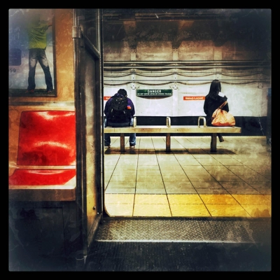 Angelo Benedetto: Subway Door