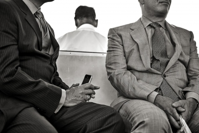 David Lykes Keenan: Men on Ferry