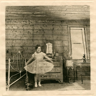 Cynthia Morgan Batmanis: New Dress from the series: Rooms With a View: Never Built to Last