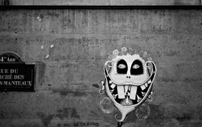 Wayne Palmer: Paris Graffiti #5 October 2015
