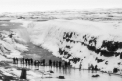 Natalie Morawsky: Through a Pinhole: Gullfoss