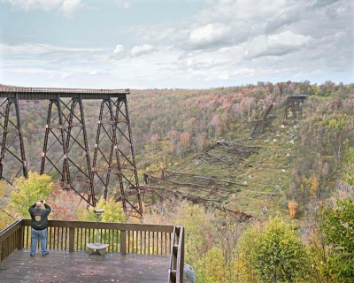 John Sanderson: Kinzua Valley, Pennsylvania, from the American Traditions series