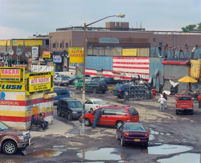 John Sanderson: Bearded Lady, Willets Point, New York City, from the American Traditions series