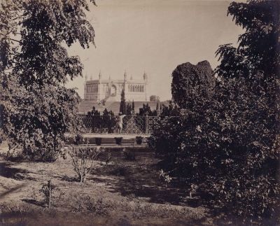 Samuel Bourne: Cawnpore (Kanpur), a View of the Memorial Place from the South