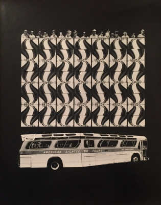 "Barbara Crane: ""Bus People,"" Baxter Travenol Lab Series"