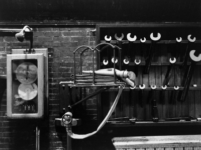 Tillman Crane: Wrenches I (Upper Pumping Station, Chestnut Hill Reservoir, Boston, MA)