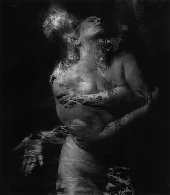 Connie Imboden: Untitled Multiple Exposure Female Nude