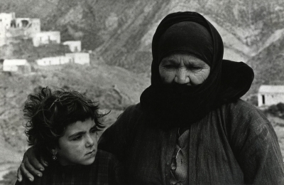 Constantine Manos: Grandmother and grandchild, Greece