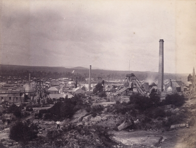 S. Spurling: Florence Nightingale and Lefroi Gold Mines, Bleaconsfield, Australia