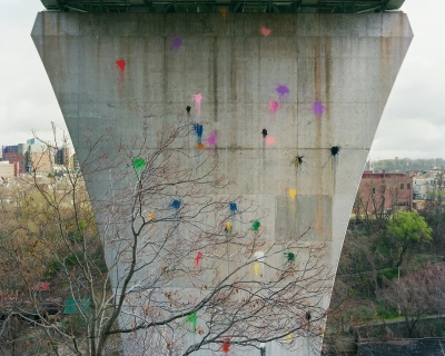 Adam Davies: Paintballs, Bloomfield Bridge