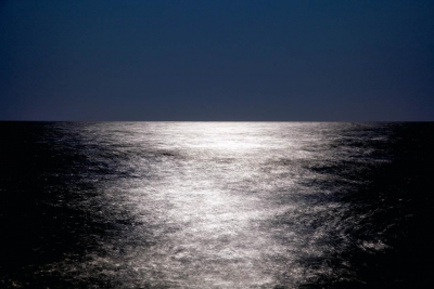 Chris Becker: Moon Over Atlantic