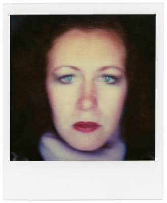 J. K. Lavin: Crisis of Experience: July 1, 1981, from a series of vintage SX-70 Polaroid self-portraits I made daily to explore time and identity.
