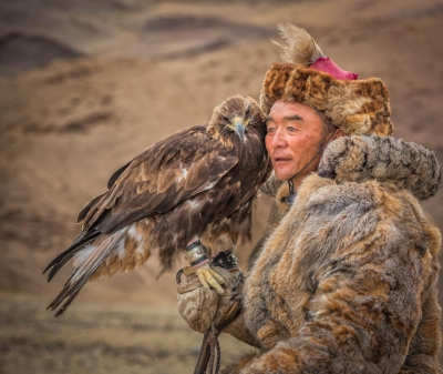 John Simmons: A Kazak Hunter and His Eagle, 2016