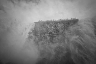 Julian Shevitz: Misty Overlook - Niagra Falls
