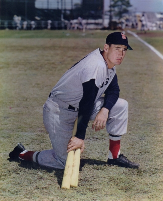 B.C.: Ted Williams, Boston Red Sox