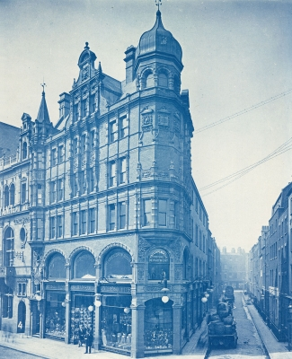 Bedford Lemere & Co.: Department Store on a London Street