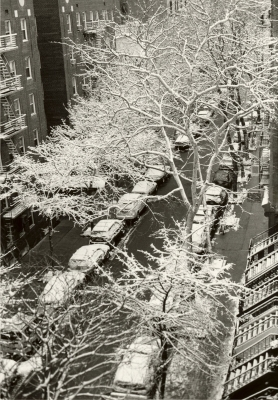 Cynthia Matthews: April Snow- East 78th Street, 2015