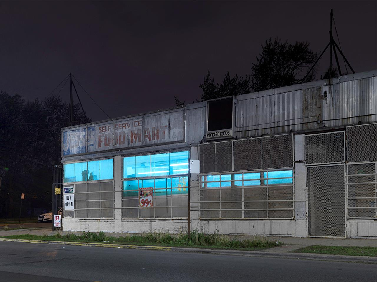Dave Jordano: Jesse's Food Mart, Southside, Chicago, 2018