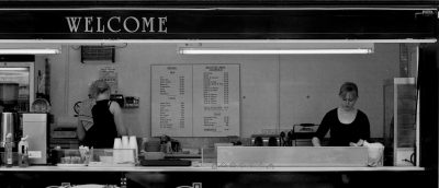 L. E. Glazer: Welcome Diner, 2010
