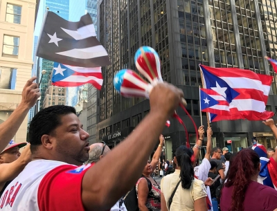 Cintia Malhotra: Raising Awareness of the Plight of Puerto Rico, New York City