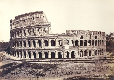 Altobelli and Moulins (attributed to): Coliseum, Rome, Italy