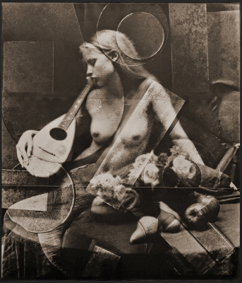 Victor Friedman: Nude with Mandolin