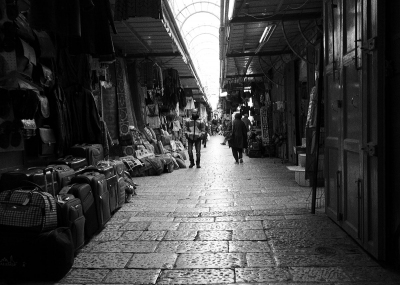 Alvin Gilens: Shuk, Sunday Morning, Jerusalem