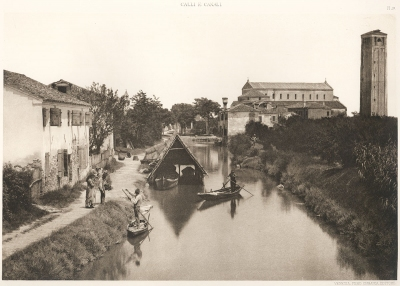 Ferdinando Ongania: From Streets and Canals in Venice - Calli e Canali in Venezia, volume 2, pl. 19