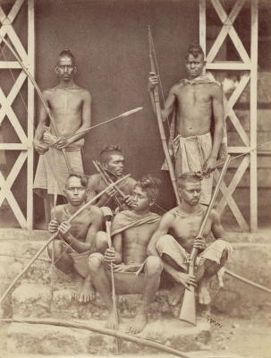 Penn: Native Men with Weapons