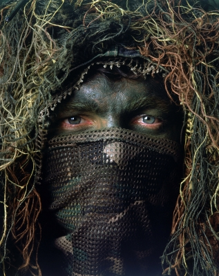 Leif Skoogfors: US Special Operations Sniper in Ghillie Suit
