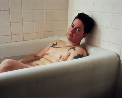 Jess Dugan: Self-portrait (Bath)