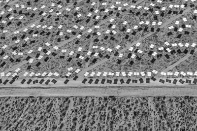 "Jamey Stillings: #10006, 25 June 2013, from the series ""The Evolution of Ivanpah Solar"""