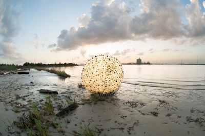 Jeremy Underwood: Plastic Bottle Debris Circle