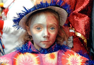 Howard Waxman: Mummers Parade: Blue Eyes